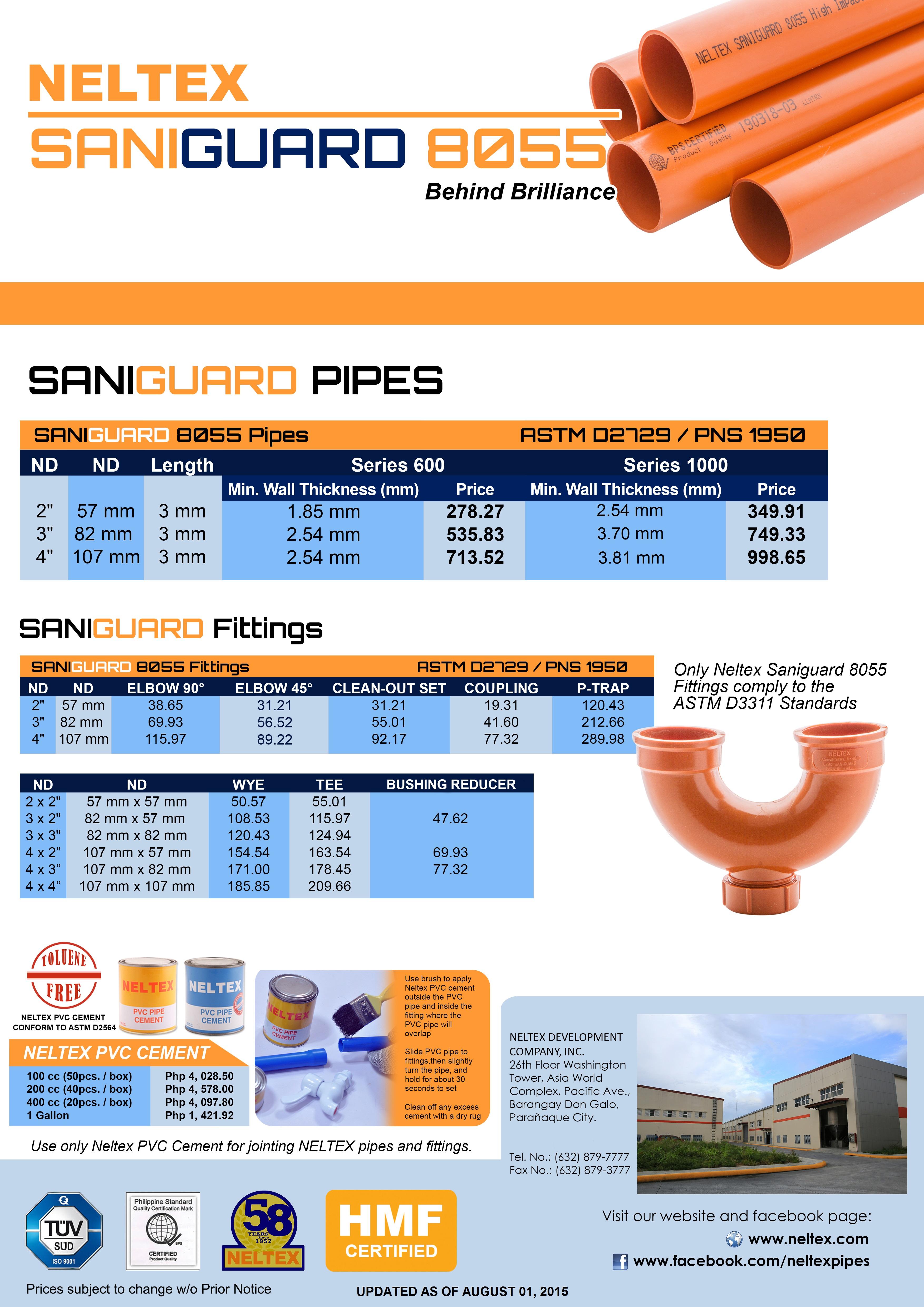 Products Saniguard 8055