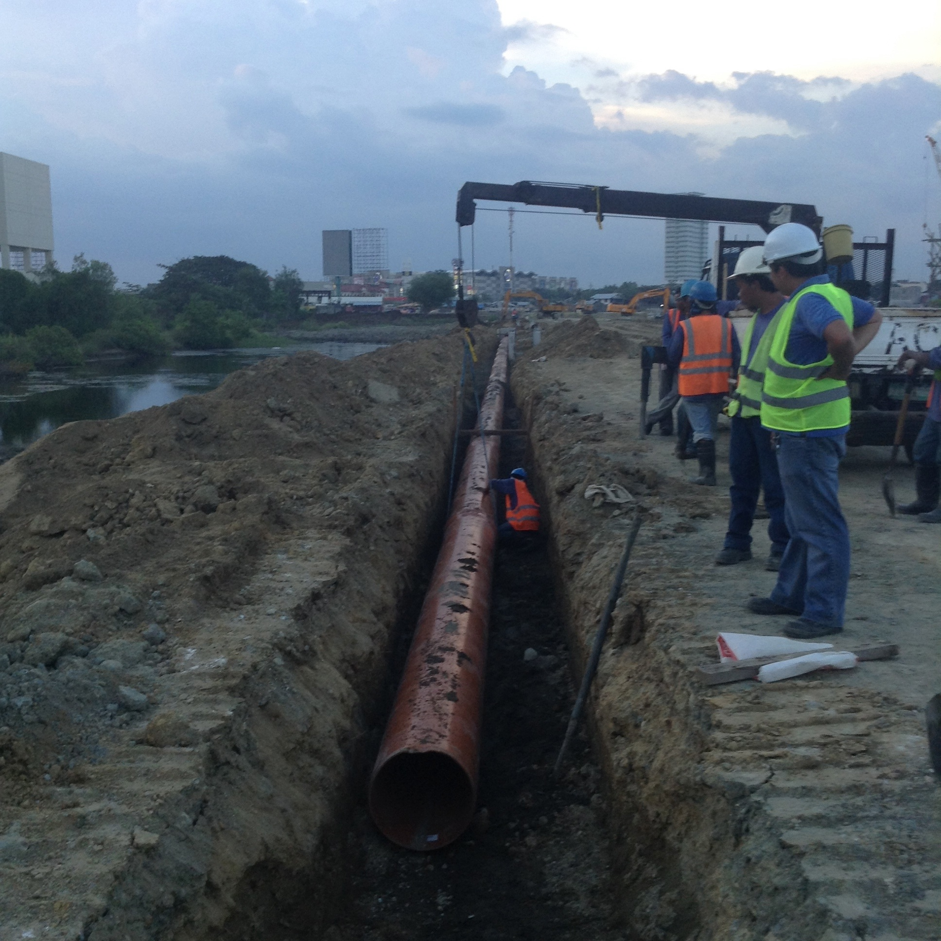 Gaisano Mall in Ilo-Ilo Uses Sewerguard 500MM Pipe