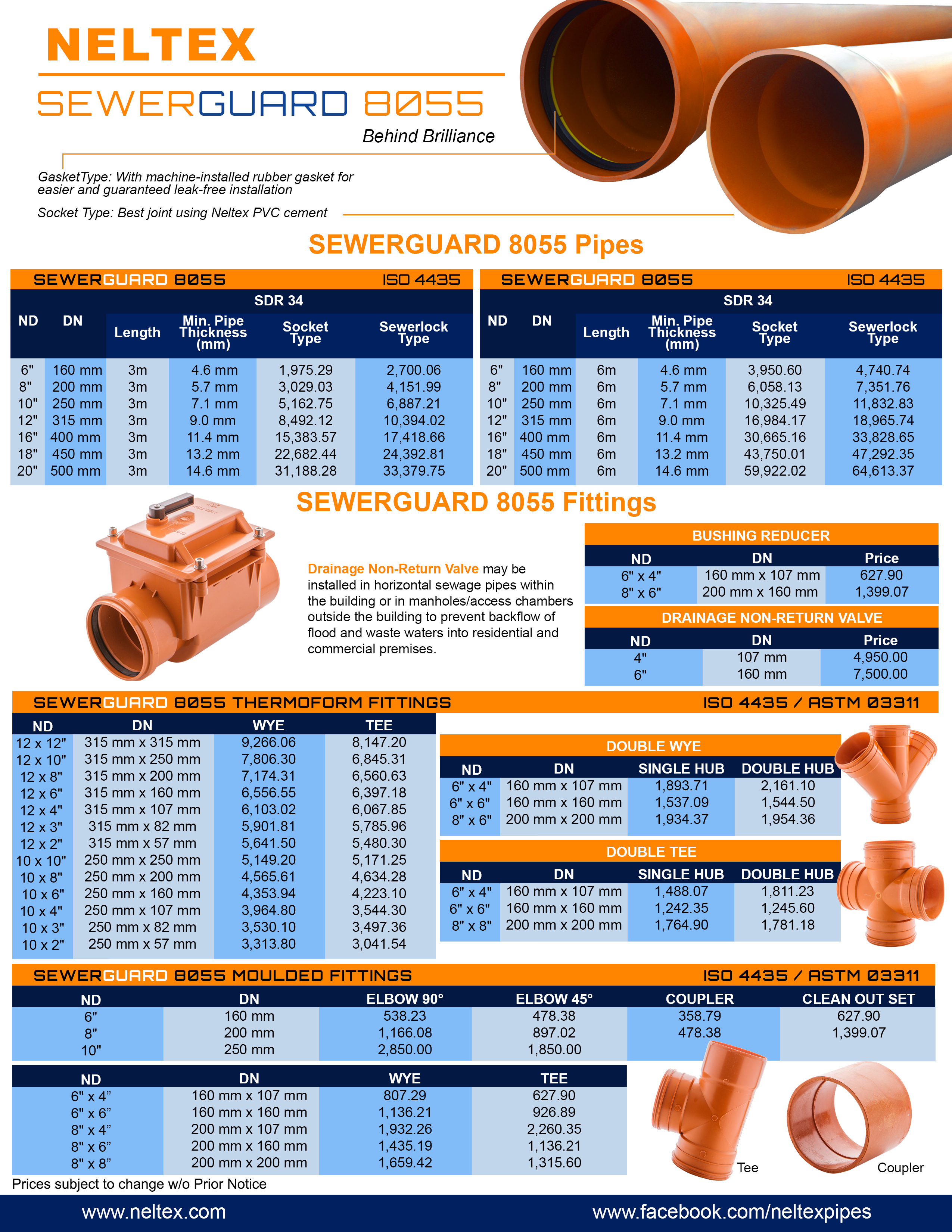 Neltex Sewerguard Pricelist 2015.jpg  sc 1 st  Neltex : cost of pvc pipes - www.happyfamilyinstitute.com