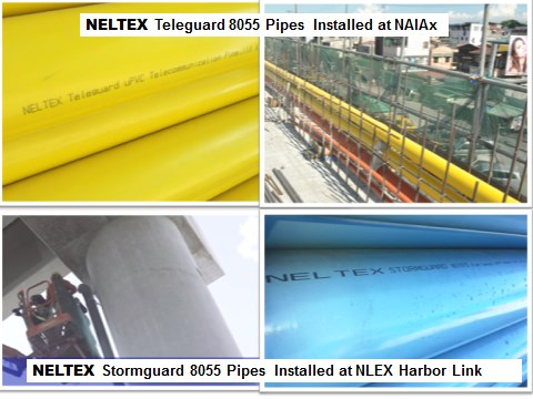NELTEX Hailed as Dependable Infrastructure Partner with Specialized, Impact-Modified PVC Pipes for NLEX and NAIAx
